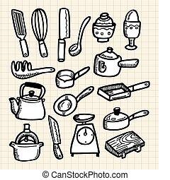 doodle kitchen  - doodle kitchen