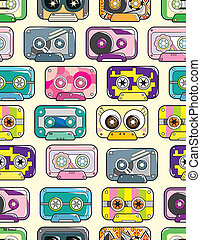 seamless tape pattern