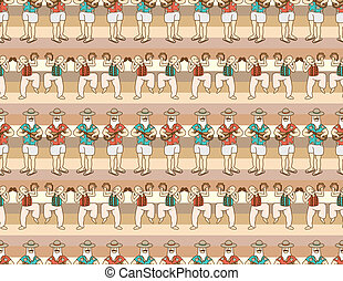 seamless music pattern  - seamless music pattern