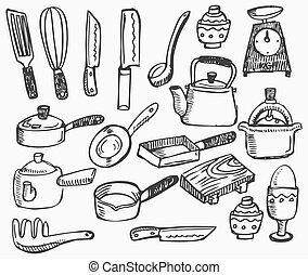 doodle kitchen