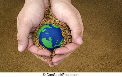 Earth Day concept