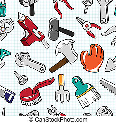 seamless tool pattern