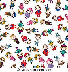 seamless child pattern