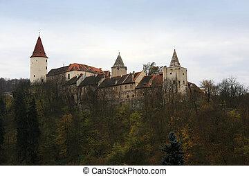 Krivoklat Castle, Europe, Czech Republic