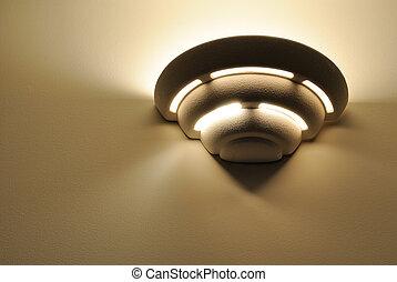 Wall Light Fixture - An art deco wall light fixture.