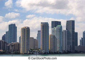 Miami Skyline - Skyline of the city of Miami, Florida
