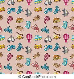 seamless transport pattern,vector i