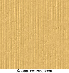 Cardboard Seamless Texture - A corrugated cardboard texture...