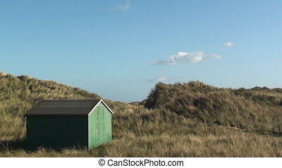 hut on beach