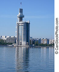 Tower - Vasco da Gama Tower is a mixed structure of tower...