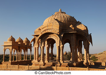 Bada Bagh Jaisalmer - the tombs of the Maharajas in...