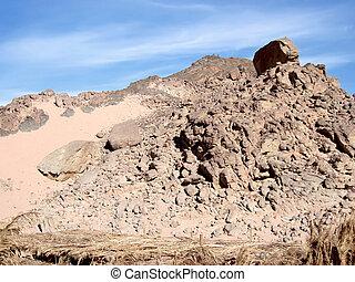 Mountains on Sinai.