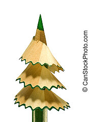 Fur-tree - stick - It is symbolical the staff (new year, a...