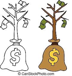 Sapling Money Tree