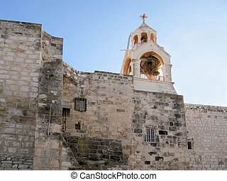 Basilica of nativity in Holy Land