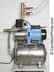 Automatic water pump in the basement