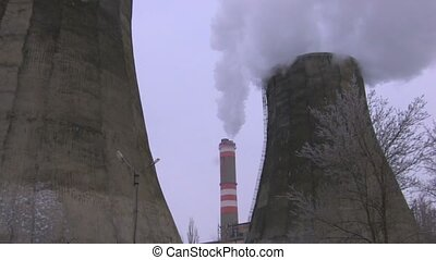 Full view of the powerplant, Canon XH A1, 1080p, 25fps,...