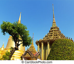 Grand Palace, Bangkok, Thailand - Grand Palace in Bangkok,...