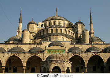 Sultan Ahmed Mosque Istanbul - the Sultan Ahmed Mosque...
