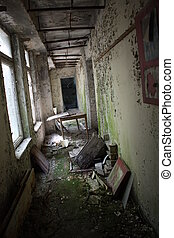 Abandoned Day Care Centre - Abandoned Day Care in Pripyat...