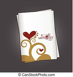 valentine's day greeting card
