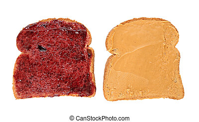 Peanut Butter Jelly Sandwich Slices - Peanut butter and...