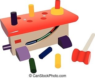 Small toy workshop