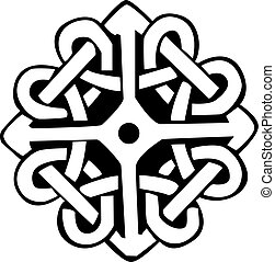 Celtic Symbol - An illustration with a design of a Celtic...