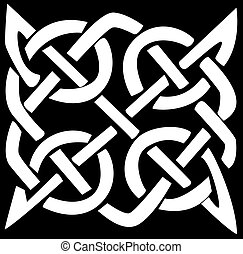 Celtic pattern and knot - A vector illustration of a Celtic...