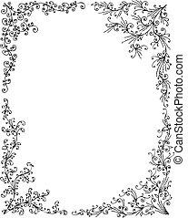 Floral Frame set I
