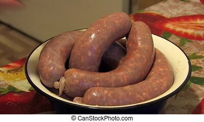 Stuffed sausages