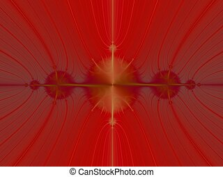 Reflection in Red