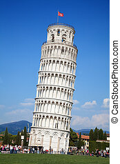 Pisa tower - Leaning tower of Pisa, Italy