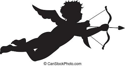 cupido, silhouette