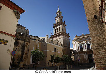 Curch Carmona - Carmona is a town of south-western Spain, in...