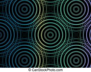 Circles in Motion (VJ Loop)