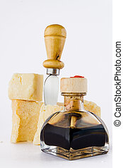 balsamic and parmesan - balsamic vinegar and parmesan with...