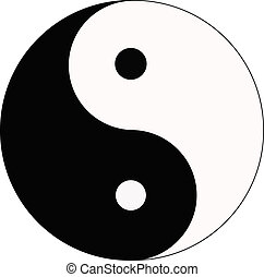 Symbol - yin and yang