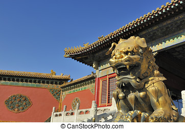 Forbidden City Imperial Guardian Lions