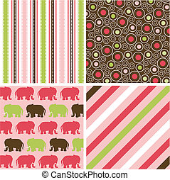 seamless patterns, fabric texture - seamless patterns with...