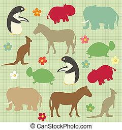 abstract natural animal pattern