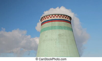 Smoke stack - Moscow , Russia