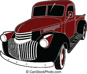 46 truck - 1946 Chevy truck