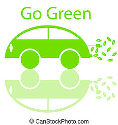Go Green Eco Friendly Electric Car