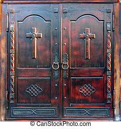 catedral, portões