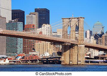 Brooklyn Bridge New York City Manhattan