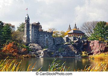 New York City Manhattan Central Park Belvedere Castle - New...