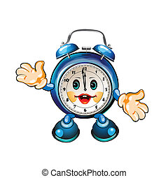 cartoon clock - cute cartoon clock