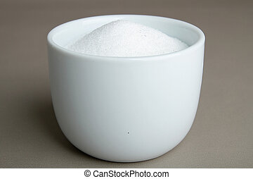 white sugar - cup of white sugar