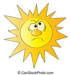 sun - illustration, pattern, summer, sun, sunbeam, sunny,...